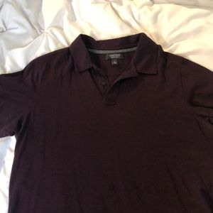 Large Maroon Nordstrom Men's Shop Polo